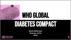 WHO Global Diabetes Compact